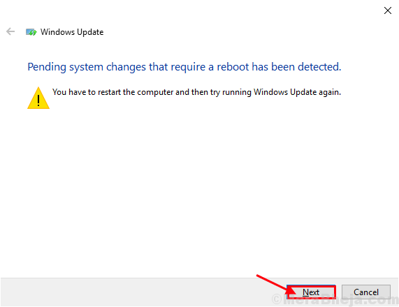 Solucionador de problemas de Windows Update2